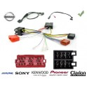 COMMANDE VOLANT Nissan Micra 2003-2010 1.5 dCi - Pour Alpine complet avec interface specifique