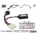 COMMANDE VOLANT Subaru XV 2010- avec touches de telephone - Pour Alpine complet avec interface specifique