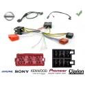 COMMANDE VOLANT Nissan Navara 2006- AVEC AMPLI BOSE - Pour SONY complet avec interface specifique