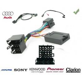 COMMANDE VOLANT Audi A5 - Pour Pioneer complet avec interface specifique