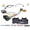 COMMANDE VOLANT Chevrolet Lacetti 2007- TCDI - Pour Pioneer complet avec interface specifique
