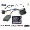 COMMANDE VOLANT Ford Transit 2006-2012 - Pour Pioneer complet avec interface specifique