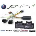 COMMANDE VOLANT SAAB 9.5 2005- - Pour Pioneer complet avec interface specifique