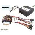 COMMANDE VOLANT HUMMER H2 2005- - Pour KENWOOD complet avec interface specifique