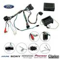 COMMANDE VOLANT Ford Ranger 2012- (avec ecran deporte) - Pour Alpine complet avec interface specifique