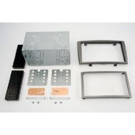 Kit integration 2 DIN PEUGEOT 308 2007- GRIS FONCE