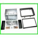 Kit integration 2 DIN SKODA FABIA 2007-2014 avec cage aluminium