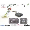 COMMANDE VOLANT Toyota Aygo Petrol 2008 - Pour Alpine complet avec interface specifique