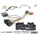 COMMANDE VOLANT CHEVROLET SPARK 2012- - Pour Pioneer complet avec interface specifique