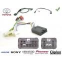 COMMANDE VOLANT Toyota Auris 2007- - Pour Pioneer complet avec interface specifique